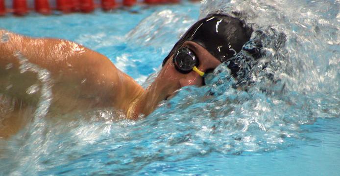 Wietse Beerens schreef vijf titels op zijn naam tijdens de Zeeuwse Winter Zwem Kampioenschappen in Terneuzen