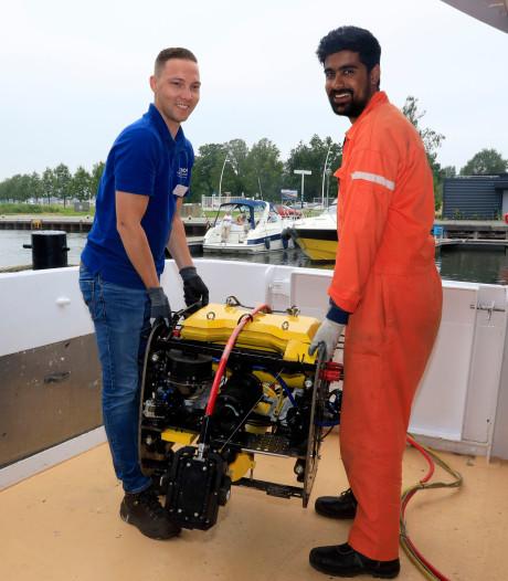 Europese primeur voor North Sea Port, proef met onderwaterrobot voor inspectie kades
