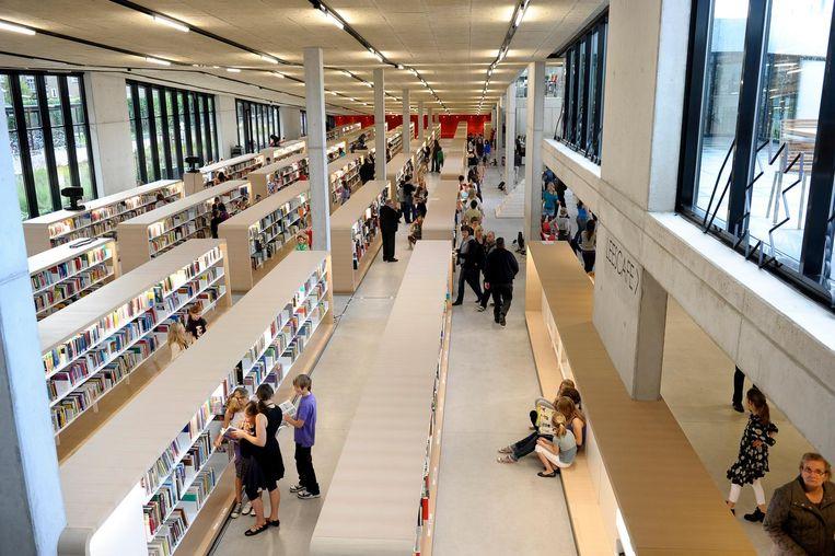 De bibliotheek van Dendermonde lokt elk jaar minder jongeren.