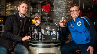 Voetbalploeg De Daltons brengt eigen bier op de markt