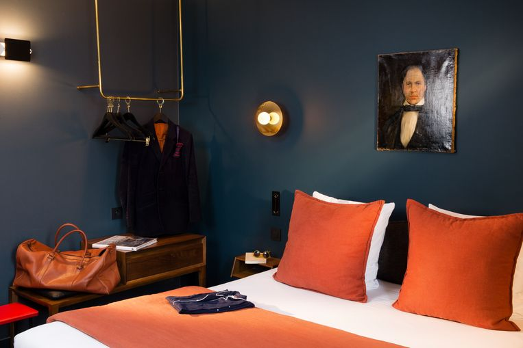 C.O.Q. Hotel Parijs Beeld .