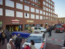Papierbrandje in supermarkt Jumbo, pand ontruimd