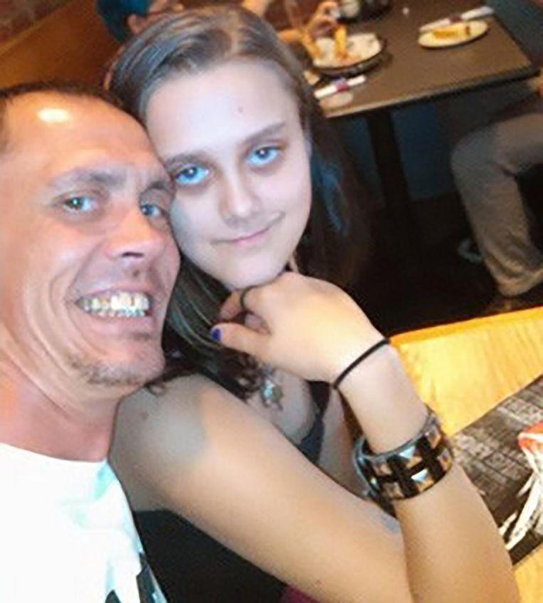 Bobby Harvey en dochter Emileigh Shaw.