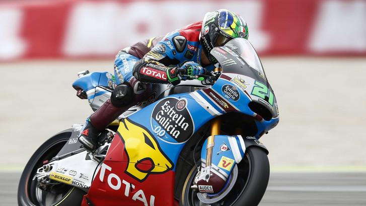 Moto2: Morbidelli op pole, Baldassari naar het ziekenhuis