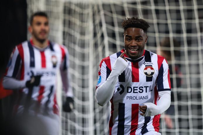 30-11-2019: Voetbal: Willem II v Sparta Rotterdam: Tilburg Eredivisie season 2019-2020 L-R: Che Nunnely of Willem II