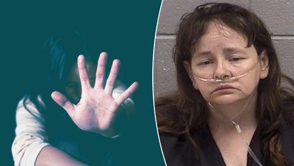 Martha C. (rechts) zit momenteel in de cel. Links een illustratiebeeld.