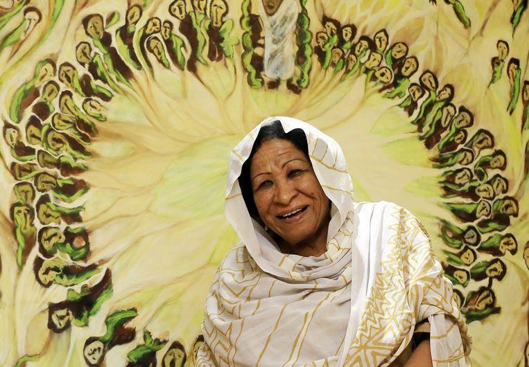 Kamala Ibrahim Ishag, winnaar van de Grote Prins Claus Prijs.  Beeld ANP