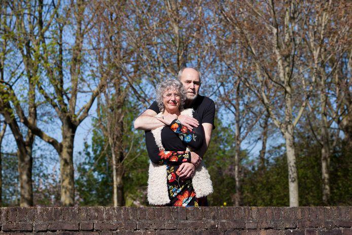 Frans Brouwers met zijn echtgenote Julienne Smit. Zijn dood laat een grote leegte achter.