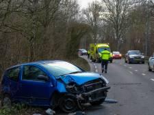 Rijbaan Bosdreef richting Prins Alexander weer open na eenzijdig auto-ongeluk