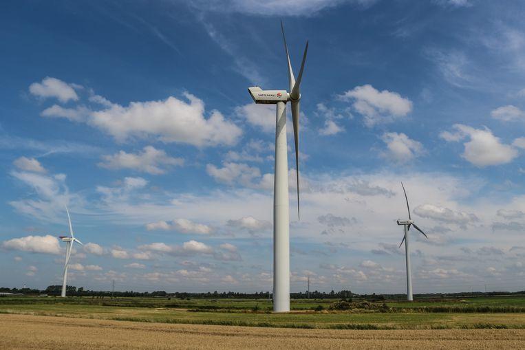 Windmolens in Denemarken. Beeld NurPhoto via Getty Images