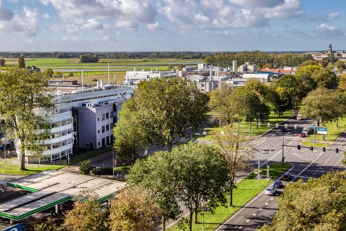 Op het voormalig Akzo-terrein in Deventer moet nieuwe hoogwaardige industrie komen.