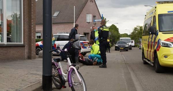 Twee ongelukken vlak na elkaar in Sprang-Capelle, kindje en scooterrijdster aangereden.