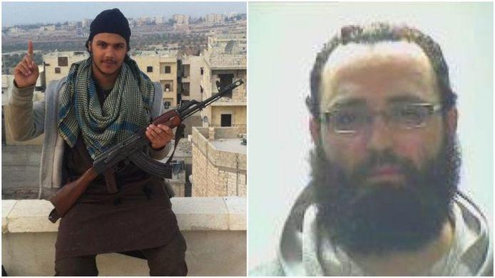 Yassine Cheikhi (à gauche) et Mohamed Botachbaqut (à droite)