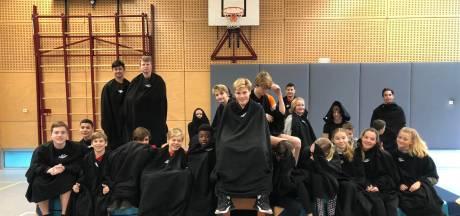 Fleecedeken tegen de kou in de klas: 'Ze zijn reuzehandig'
