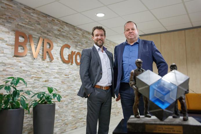 Tonny Vromans en Peter Suijkerbuijk vormen de directie van BVR dat na een doorstart weer volop draait.