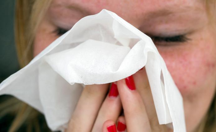 De kenmerken van hooikoorts zijn oa niezen, jeuk in de neus een verstopte neus of een loopneus.