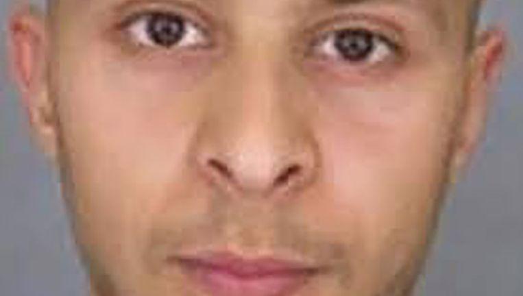 De foto die de politie verspreidde van verdachte Salah Abdeslam. Beeld ..