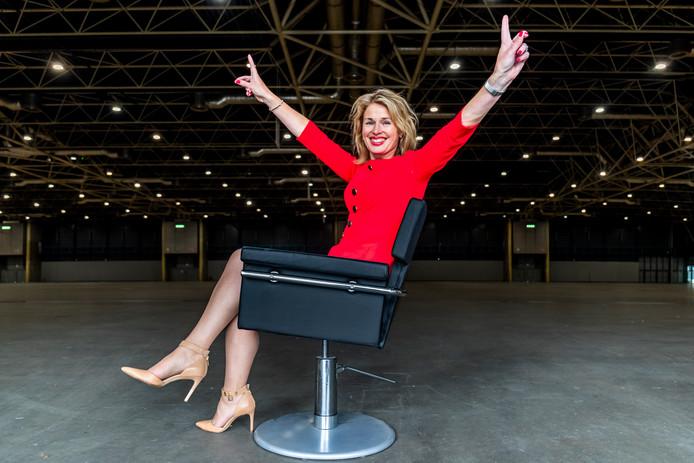 Jacqueline Bakker van Jaarbeurs in Hal 1, waar het straks moet gebeuren.