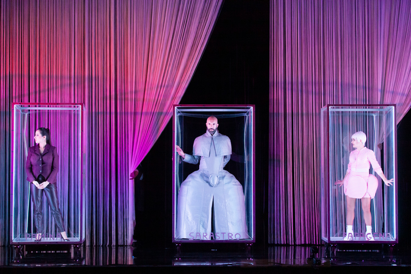 Die Zauberflöte met Opera Zuid, regie Jorinde Keesmaat, muzikale leiding Benjamin Bayl.