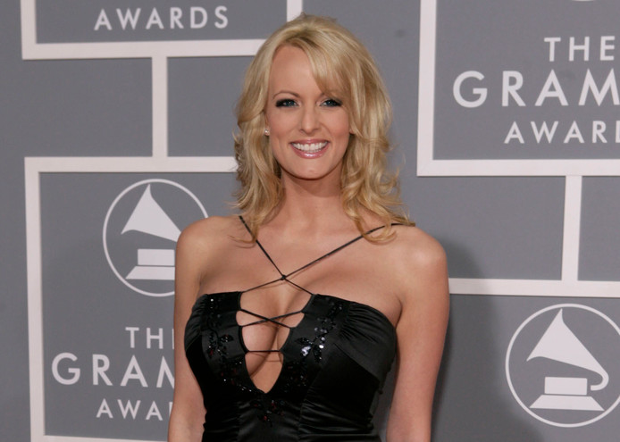 Stormy Daniels, de vrouw over wie heel Amerika over praat, bezocht vorige week de Grammy Awards in Los Angeles.