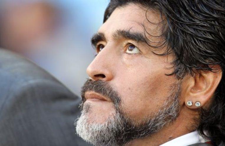 Diego Maradona. ANP Beeld
