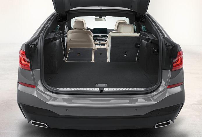De 6-Serie Gran Turismo houdt het midden tussen een sedan en een stationcar en biedt bovengemiddeld veel ruimte
