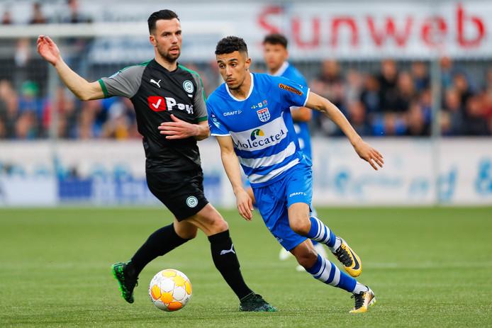 PEC Zwolle-middenvelder Younes Namli (24) onderhandelt met Krasnodar, de nummer drie van Rusland.