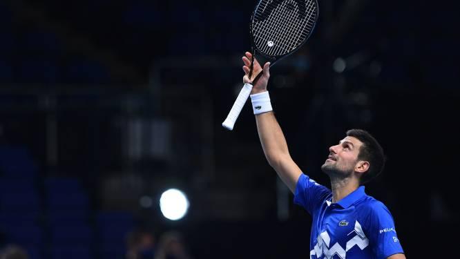 Djokovic opent ATP Finals met zege, Medvedev zet Zverev opnieuw opzij