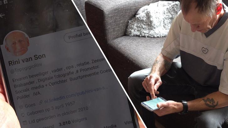 Rini uit Goes twittert er op los, 120 keer per dag