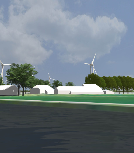Heiwerk voor windpark Veenwieken bij Ommerkanaal is klaar