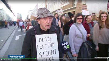 De klimaatbetoger van 95 die het doet voor zijn 5 achterkleinkinderen