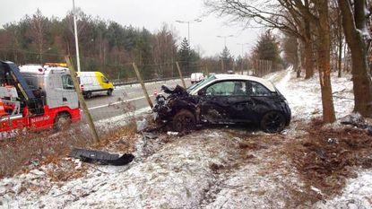 Dubbel ongeval op enkele tellen tijd