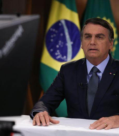 Bolsonaro: Inheemse bewoners schuldig aan branden Amazone