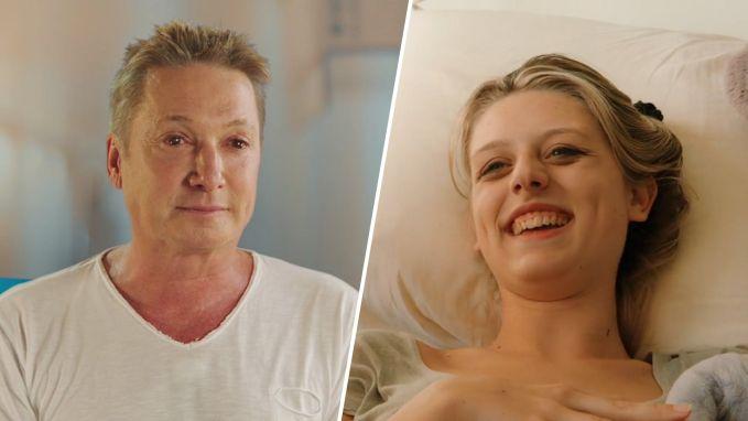 Bart Kaëll ontroerd wanneer transgender Maël haar nieuwe lichaam ontdekt