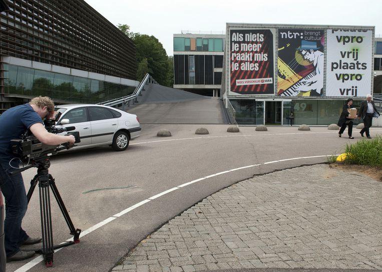 De VARA deelt nu nog een pand op het Mediapark in Hilversum met de VPRO en de NTR. Beeld ANP
