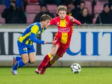 FC Oss bezwijkt onder druk van Go Ahead Eagles: 2-1 nederlaag