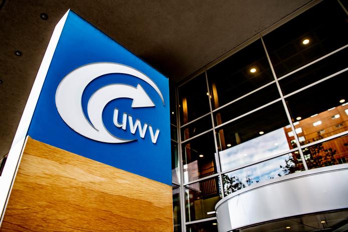 Het UWV-kantoor in Rotterdam.