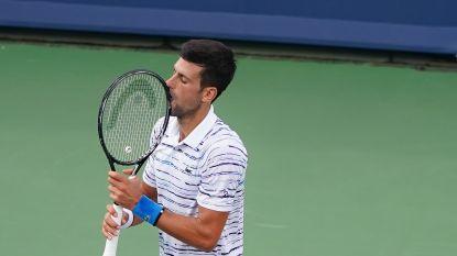Djokovic niet naar finale masters Cincinnati