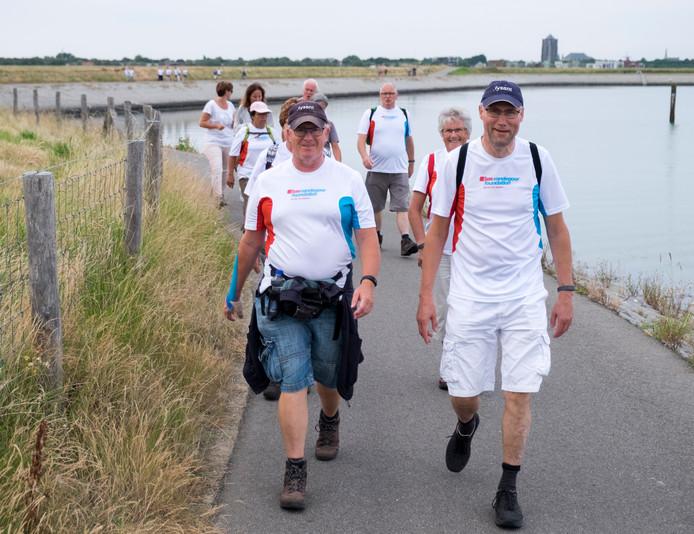 Een wandelavond met Fysant voor de editie van 2016.