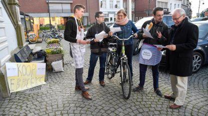 Bakkers en slagers van Jong N-VA promoten lokaal kopen