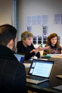 Frans Bevers op de Design Academy Eindhoven.