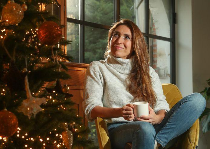 Redactrice en groot kerstfan Sabine Vermeiren.