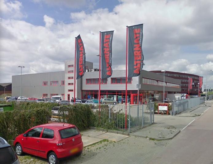 Het hoofdkantoor van Alternate in Ridderkerk (foto) verhuist naar Tholen.