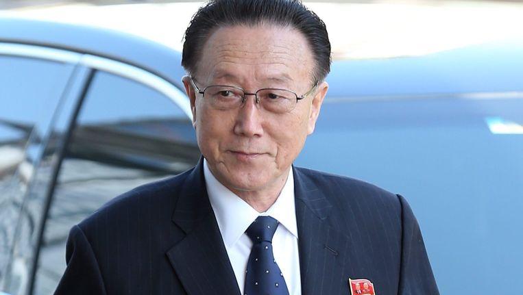 Kim Yang-gon Beeld epa