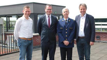 Benny Van Wabeke legt eed af als korpschef nieuwe politiezone