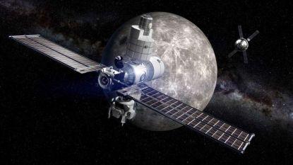 Ruimtestation in baan rond maan en landers die heen en weer gaan naar oppervlak: NASA heeft grootse plannen