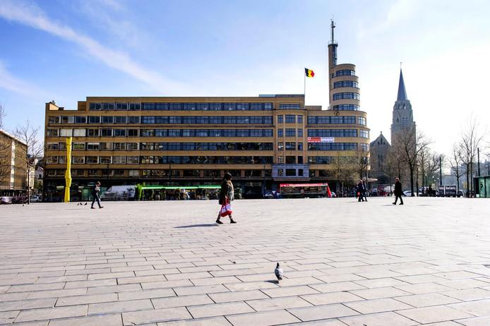 La place Flagey à Ixelles.