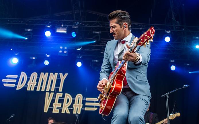 Danny Vera speelt in juni op Vestrock.