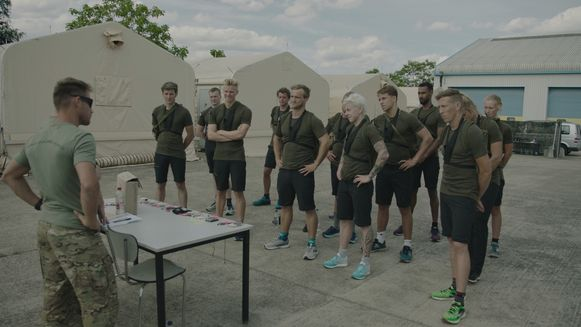 Een beeld uit Kamp Waes. In de nieuwe opleiding 'Veiligheid en Defensie' zullen jongeren ook voorbereid worden op de fysieke toegangsproeven en op de militaire basisvorming.