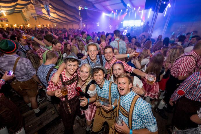 Oktoberfest in Geerdijk (iets ten noorden van Almelo).
